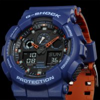 Zegarek męski Casio g-shock original GA-100L-2AER - duże 3