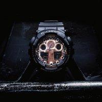 Zegarek męski Casio g-shock original GA-100MMC-1AER - duże 2