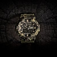 Zegarek męski Casio g-shock original GA-700CM-3AER - duże 2