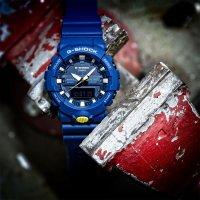 Zegarek męski Casio g-shock specials GA-800SC-2AER - duże 2