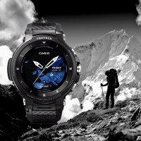 Zegarek męski Casio protrek WSD-F30-BKAAE - duże 3