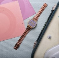 Zegarek unisex Casio vintage maxi A168WECM-5EF - duże 7