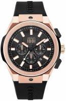 Zegarek męski Cerruti 1881 ruscello CRA163SRB02BK - duże 1
