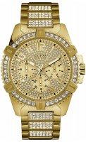 Zegarek męski Guess bransoleta W0799G2 - duże 1