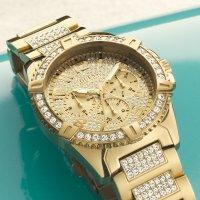 Zegarek męski Guess bransoleta W0799G2 - duże 4