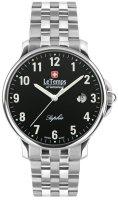 Zegarek męski Le Temps zafira LT1067.07BS01 - duże 1