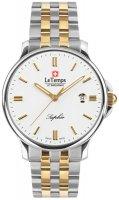 Zegarek męski Le Temps zafira LT1067.44BT01 - duże 1