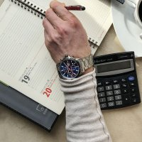 Zegarek męski Lorus sportowe RM309FX9 - duże 8