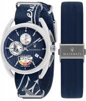 Zegarek męski Maserati trimarano R8851132003 - duże 1