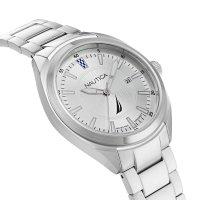 Zegarek męski Nautica bransoleta NAPBPS016 - duże 2