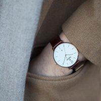 Zegarek męski Obaku Denmark pasek V181GDVWRN - duże 4