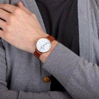 Zegarek męski Obaku Denmark pasek V181GDVWRN - duże 5