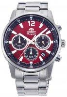 Zegarek męski Orient chronograph RA-KV0004R10B - duże 1
