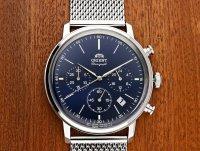 Zegarek męski Orient chronograph RA-KV0401L10B - duże 7