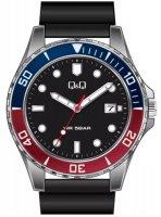 Zegarek męski QQ męskie A172-352 - duże 1