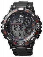 Zegarek męski QQ męskie M174-002 - duże 1