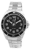 Zegarek męski QQ męskie S374-205 - duże 1