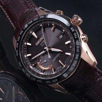 Zegarek męski Seiko astron SSE096J1 - duże 4