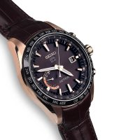 Zegarek męski Seiko astron SSE096J1 - duże 5