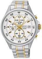 Zegarek męski Seiko chronograph SKS629P1 - duże 1