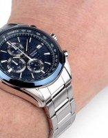 Zegarek męski Seiko chronograph SSB177P1 - duże 2