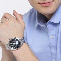 Zegarek męski Seiko chronograph SSB257P1 - duże 2