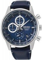 Zegarek męski Seiko chronograph SSB333P1 - duże 1