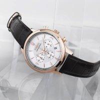 Zegarek męski Seiko chronograph SSB342P1 - duże 2
