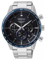 Zegarek męski Seiko chronograph SSB357P1 - duże 1