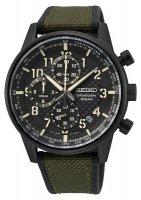 Zegarek męski Seiko chronograph SSB373P1 - duże 1