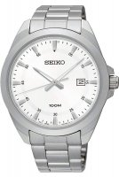 Zegarek męski Seiko classic SUR205P1 - duże 1
