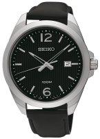 Zegarek męski Seiko classic SUR215P1 - duże 1