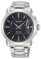 Zegarek męski Seiko premier SNQ159P1 - duże 1
