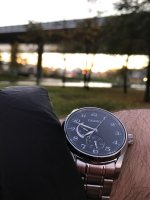 Zegarek męski Seiko presage SPB043J1 - duże 2