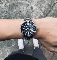 Zegarek męski Seiko prospex SRPC35K1 - duże 3