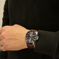 Zegarek męski Seiko solar SNE487P1 - duże 2