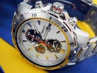 Zegarek męski Seiko solar SSC553P1 - duże 2