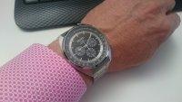Zegarek męski Seiko solar SSC621P1 - duże 2