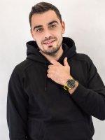Zegarek męski sportowy Casio G-Shock GA-2000-1A9ER szkło mineralne - duże 2