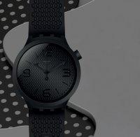 Zegarek męski Swatch big bold SO27B100 - duże 3