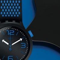 Zegarek męski Swatch big bold SO27B101 - duże 3