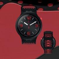 Zegarek męski Swatch big bold SO27B102 - duże 3