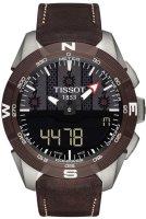Zegarek męski Tissot t-touch expert solar T110.420.46.051.00 - duże 1