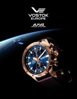 Zegarek męski Vostok Europe almaz 6S11-320B262 - duże 8