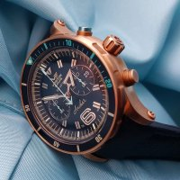 Zegarek męski Vostok Europe anchar 6S21-510O585 - duże 3