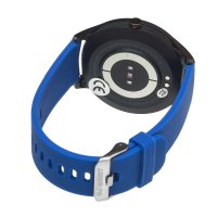 Zegarek męski z krokomierz Garett Męskie 5903246286953 Smartwatch Garett Men 3S RT niebieski - duże 3