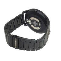 Zegarek męski z krokomierz Garett Smartbandy - Opaski sportowe 5903246287325 Smartwatch Garett GT22S RT czarny stalowy - duże 3
