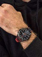 Zegarek męski z tachometr Lorus Sportowe RM387EX9 - duże 3