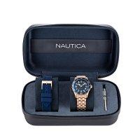 Zegarek damski Nautica bransoleta NAPPBS037 - duże 4