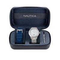 Zegarek męski Nautica bransoleta NAPPLS020 - duże 4